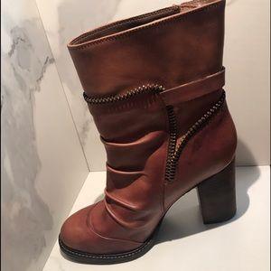 BCBG Generation Zippered Heeled Boots
